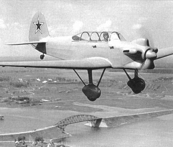 5.УТ-2Л в полете. 2
