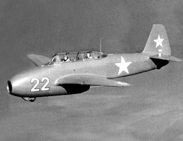 5.Як-17УТИ в полете
