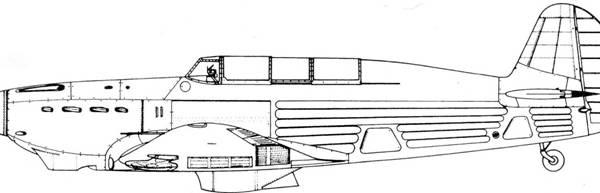 5.Як-7А. Схема.