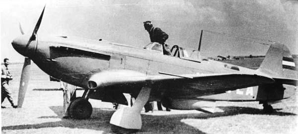 5.Як-9П ВВС Югославии.