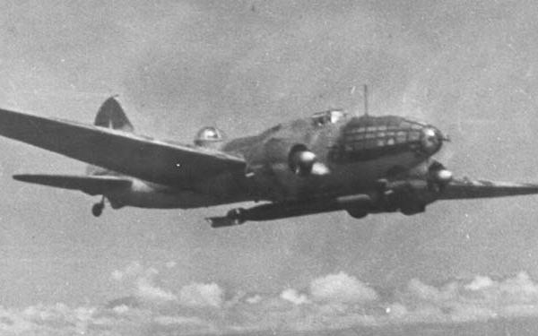 5а.Ил-4Т с торпедой 45-36-АМ.