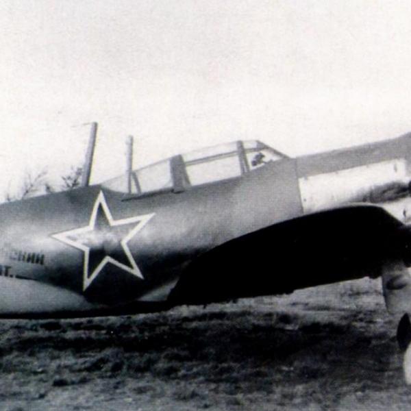 5а.Ла-5Ф из эскадрильи Монгольский арат.