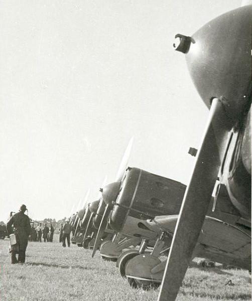 5а.Линейка И-16 тип 17, авиации КБФ,1938 г