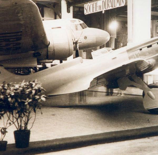 5б.И-17 (ЦКБ-19) на авиавыставке в Париже. Ноябрь 1936 г.