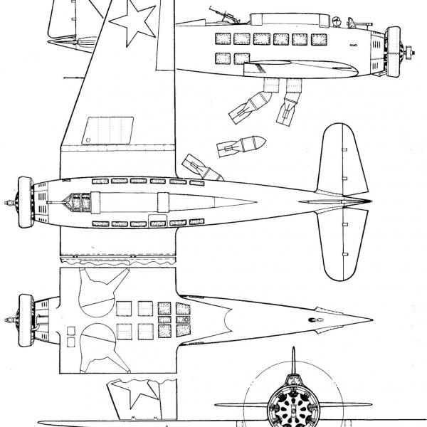 6.ХАИ-1ВВ. Схема.