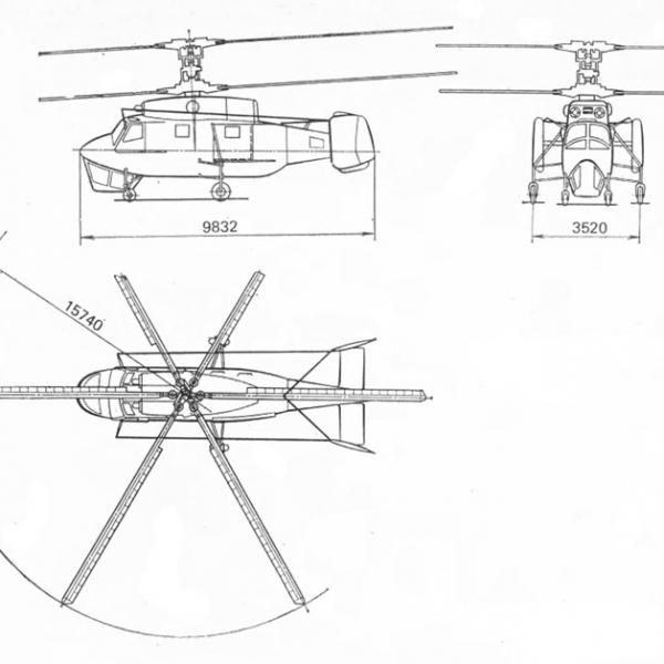 6.Ка-25К. Схема 1.
