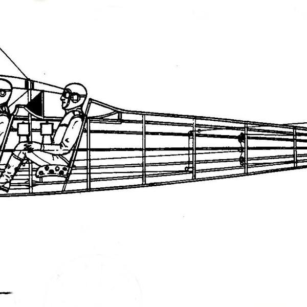 6.Компановочная схема двухместного Торпедо