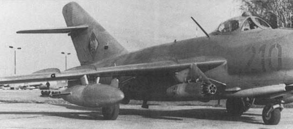 6.МиГ-17Ф ВВС ГДР.