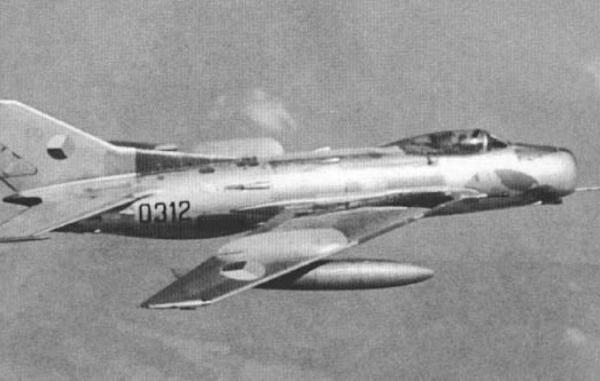 6.МиГ-19С чешской сборки.