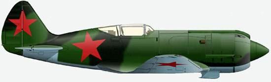 6.МиГ-9 (Первый, И-210). Рисунок.