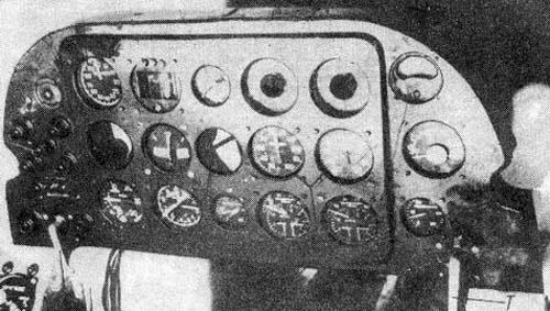 6.Приборная доска Як-4.