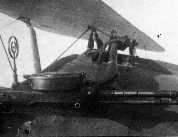 6.Пулемет ДА на По-2М.
