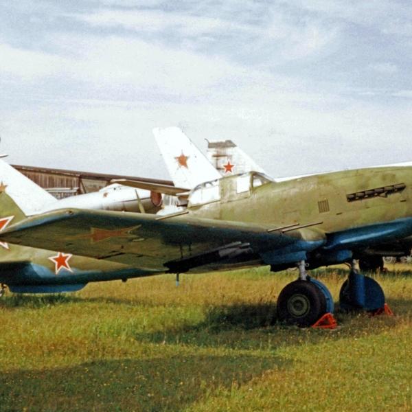 6.Штурмовик Ил-10М в музее ВВС Монино.
