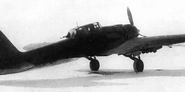 6.Штурмовик Ил-2 М-82. 6