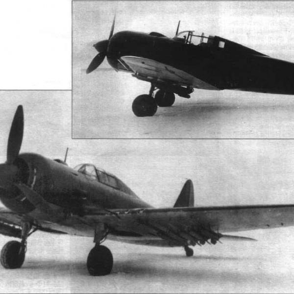 6.Второй экземпляр Су-6 с двигателем М-71Ф