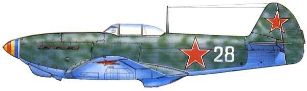 6.Як-1 М-105ПФ. Рисунок.