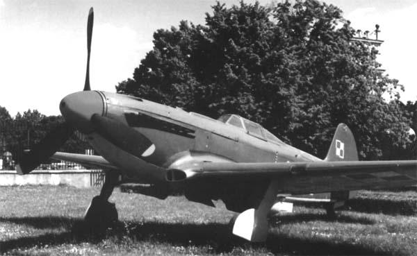 6.Як-9П ВВС Польши.