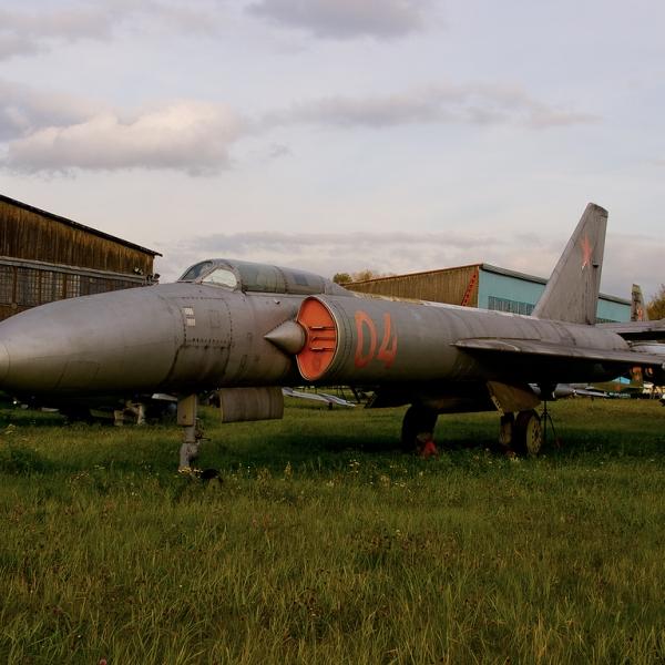 6в.3-й опытный Ла-250А в музее ВВС Монино.