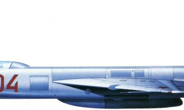 7.3-й опытный Ла-250А. Рисунок.