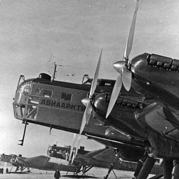 7.АНТ-6А перед прыжком на крышу мира.