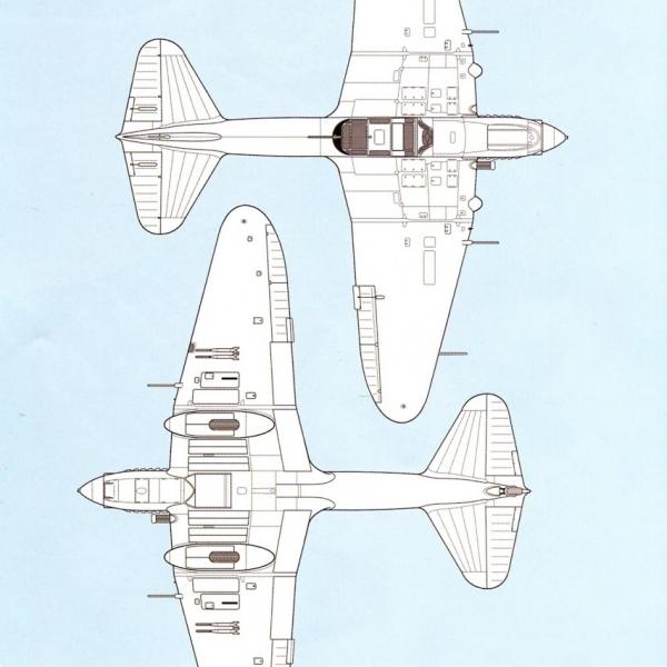 7.Ил-2 КСС. Схема 1.