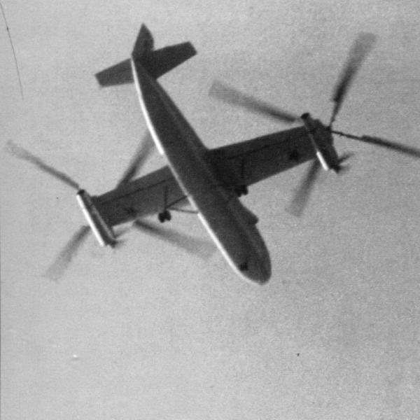 7.Ка-22 в полете. 2