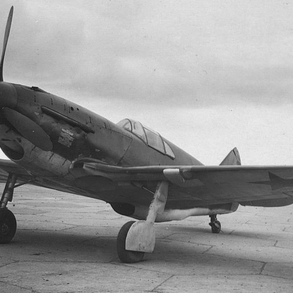 7.ЛаГГ-3 (29 серия) на испытаниях НИИ ВВС.