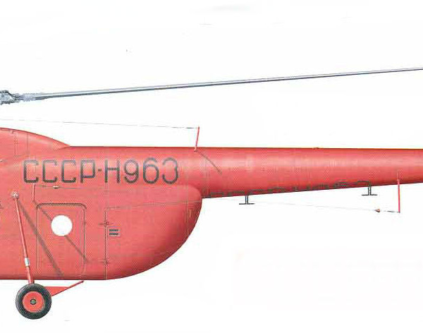 7.Ми-4СВ Полярной авиации. Рисунок.