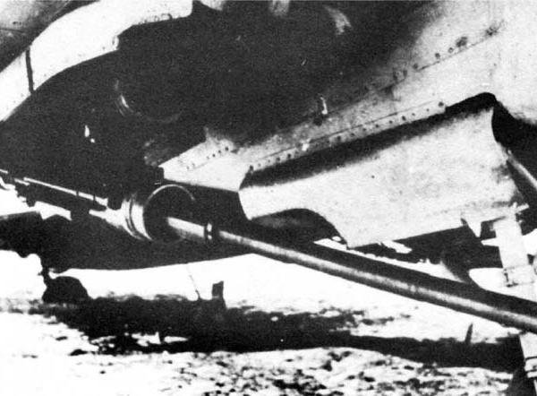 7.Пушка НС-37 на Ил-2.