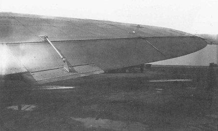 7б.Элерон с флетнером на крыле БШ-2 (ЦКБ-55).