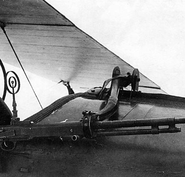 7г.Пулемет ДТ на шкворневой установке У-2ВС