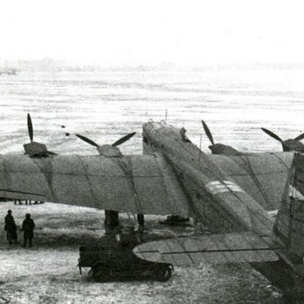 8.АНТ-6А Авиаарктика. Подготовка к полету.