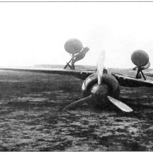 8.И-180 после аварии на нем Супруна. 2