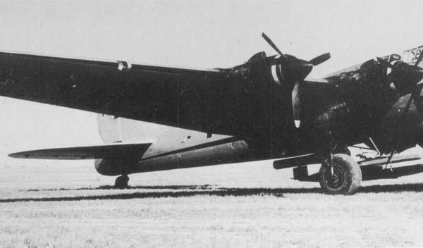 8.Летающая лаборатория Пе-8 М-82ФН с ракетой 10Х В.Н.Челомея.
