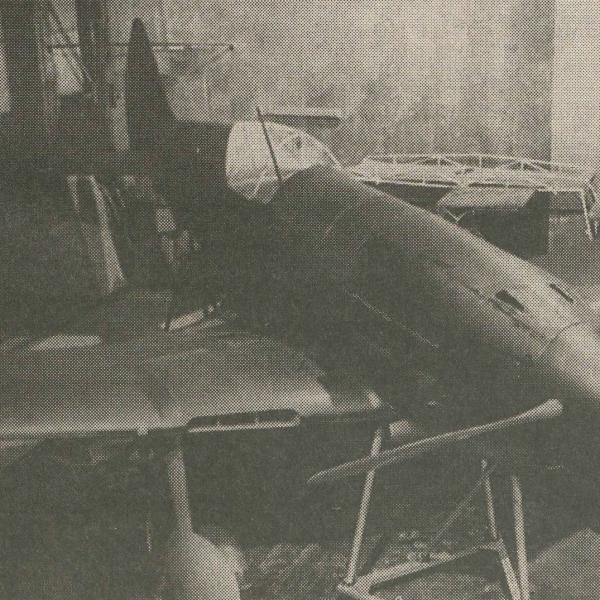8.Макет истребителя ИТП. Январь 1941 г.