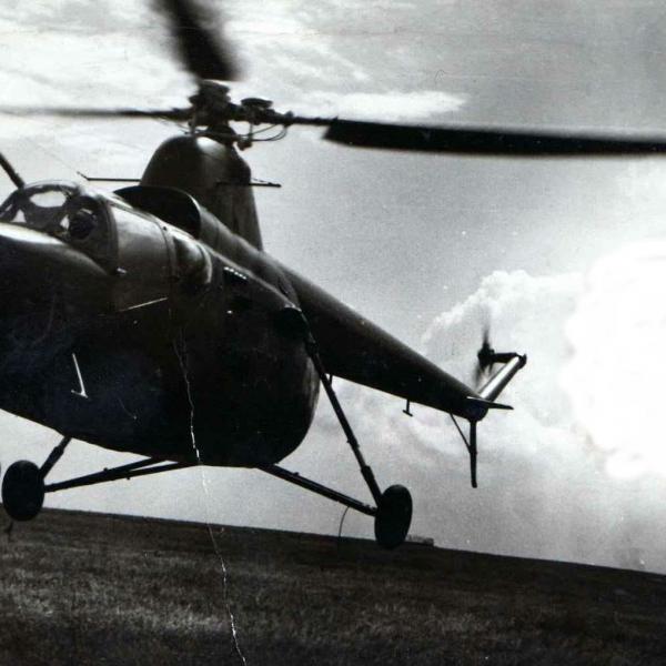 8.Ми-1ТУ на аэр.Кузнецк. СВВАУЛ 1968 г.