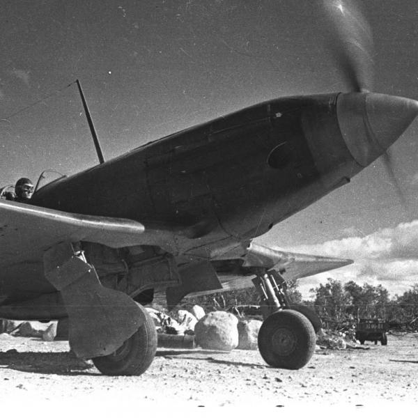 8.МиГ-3 ВВС Северного флота.