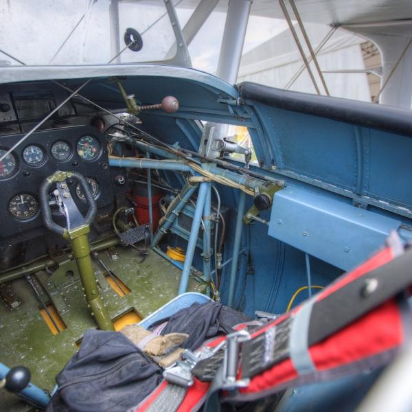 8.Общий вид передней кабины ДИТ.