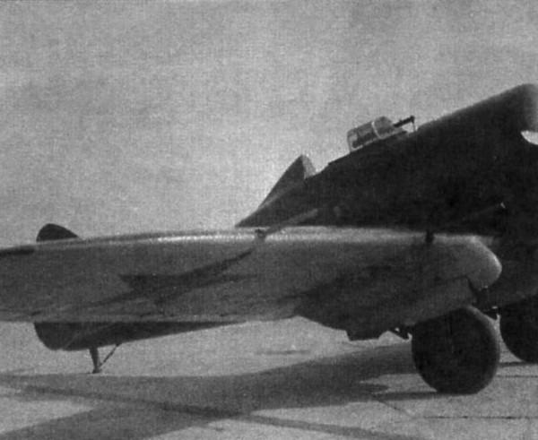8.Опытный ИП-1 № 135005 с 2-мя пушками ШВАК. 1936 г.