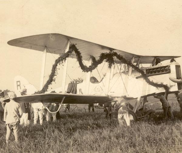 8.Р-1 экипажа М.М.Громова в Японии.