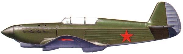 8.Серийный И-26 завода № 301. Рисунок.