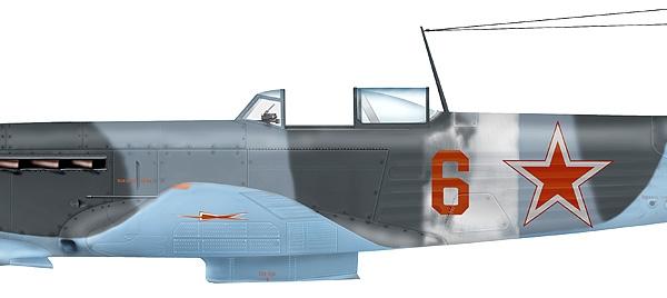 8.Як-9М. Рисунок 1