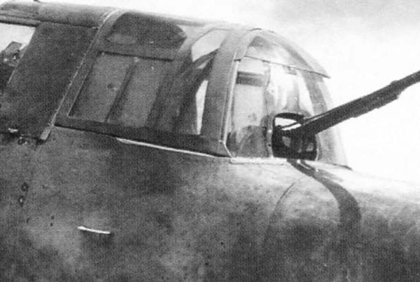 8а.ВУ с пушкой ШВАК на Ил-10.