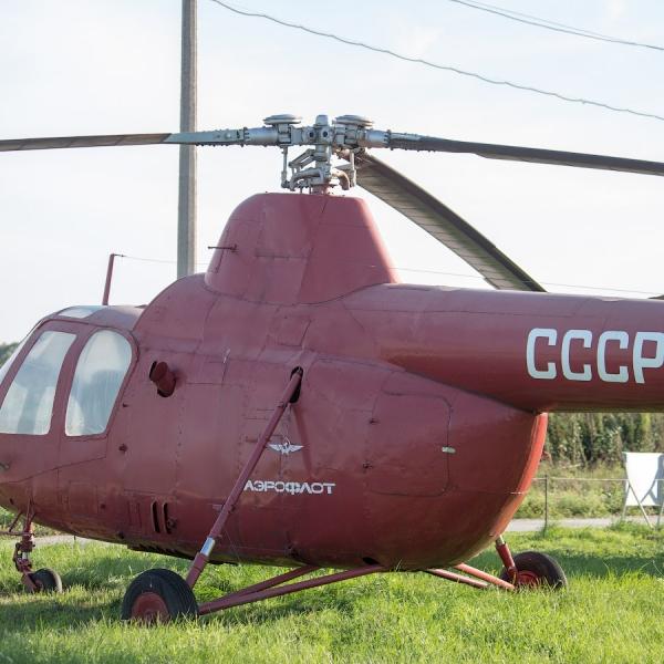 8б.Ми-1Т в авиамузее