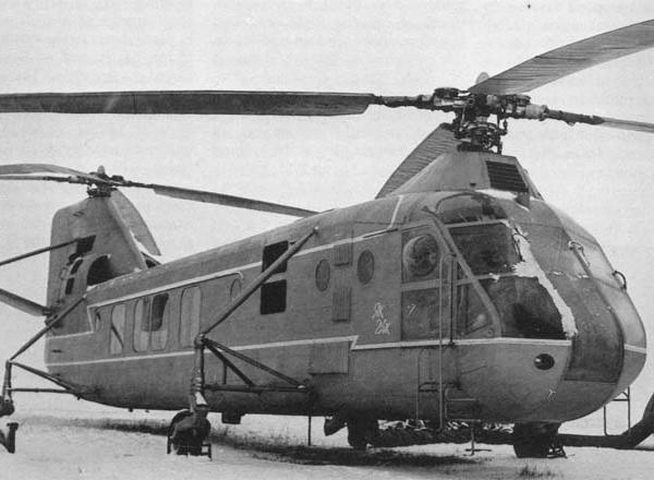 8в.Вертолет Як-24К.