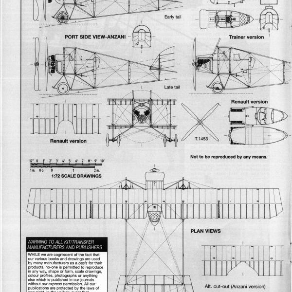 9.Caudron G.III. Схема 1.