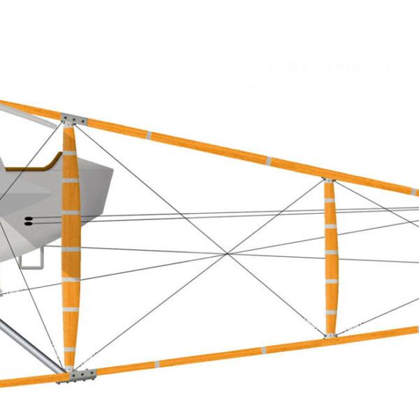 Caudron G.IV ВВС Турции. Рисунок