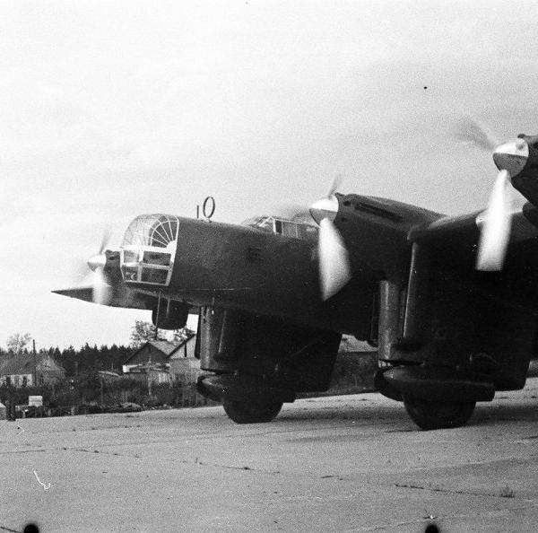 9.ДБ-А борт. № 209 экипажа С.Леваневского. 4