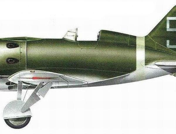 9.Истребитель И-16 тип 17. Рисунок.