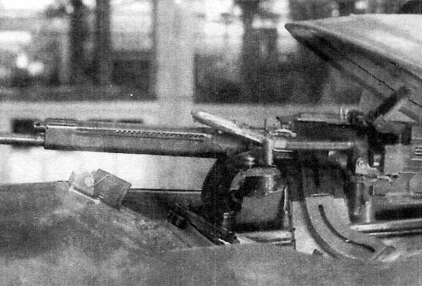 9.Оборонительная установка ТСС-1 с пулеметом ШКАС.